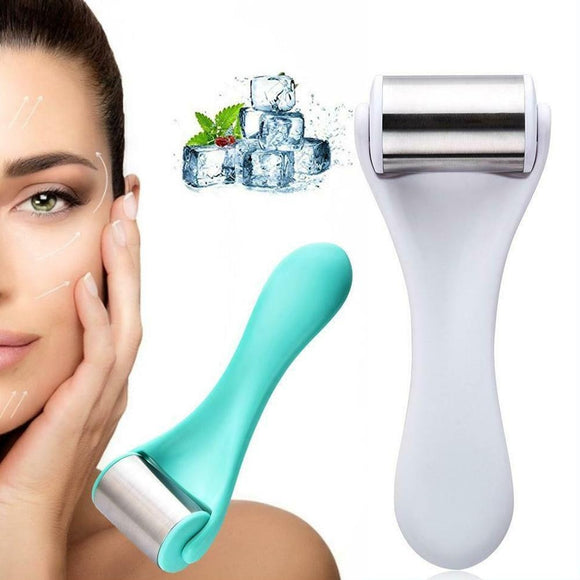 Stainless Steel Ice Roller for Firming-up Face and Skin Care