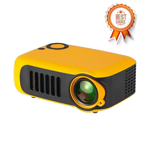 Portable Projector - Mini LCD 1080P Portable Home Theater Video Projector With 50,000 Hours Lamp Life