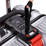 Suitcase Strap - Password Wheel And Electronic Scale Monitor Luggage Strap