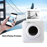 Portable Bluetooth Printer - Portable Bluetooth Mini Thermal Photo Pocket-size Printer For IOS Android