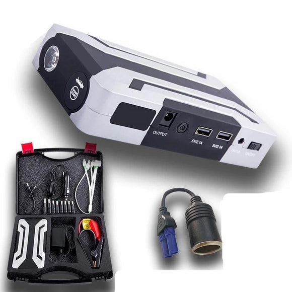 Car Battery Jump Starter - JKCOVER 18000mAh 12V Car Battery Jump Starter