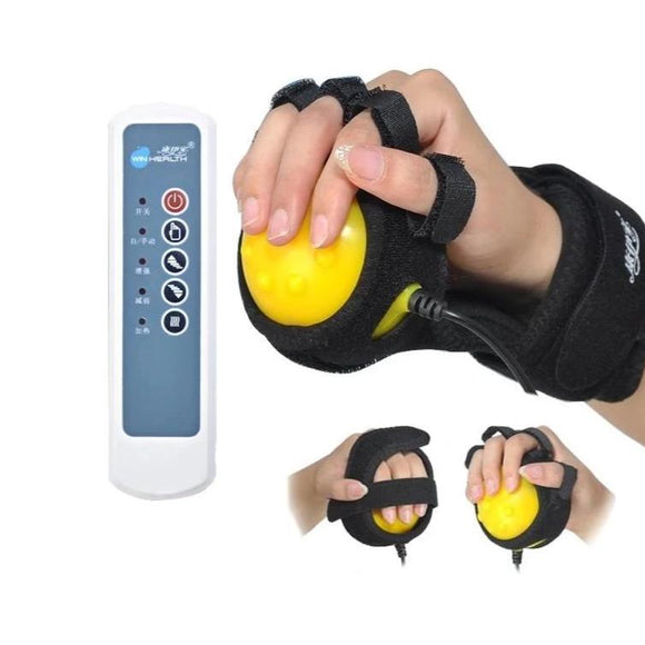 Hand Massager with Infrared Hot Compress for Physiotherapy Rehabilitation