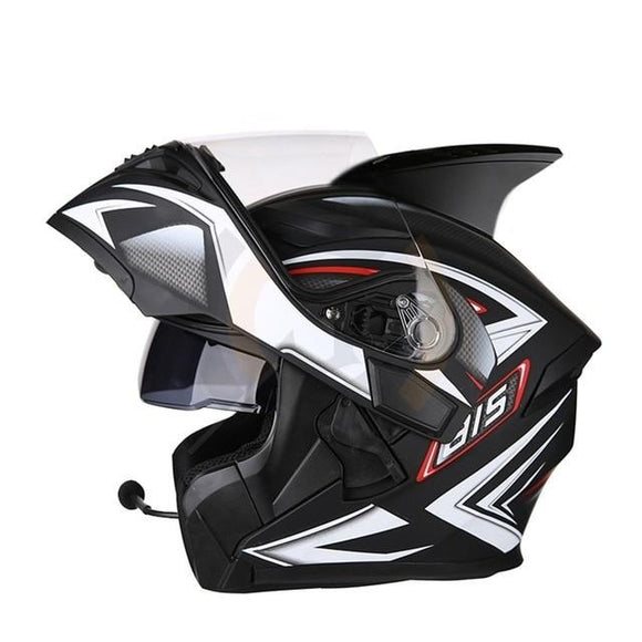 K3 Visor Moto Bike Bluetooth Helmet