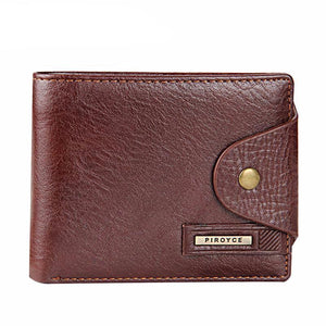 Wallet - Genuine Leather Quality Men Wallet