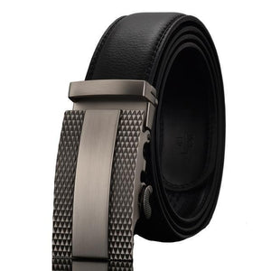 Belt - Automatic Alloy Buckle Leather Belts