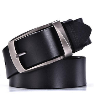 Belt - Quality Genuine Cowhide Leather Belt