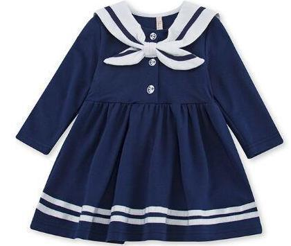 Baby Clothes - Preppy Style Baby Girl Dress