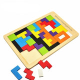 Toys - Jigsaw Tetris Board Puzzle Educational Toy