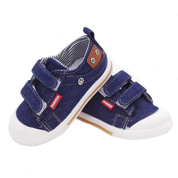 Baby Shoes - Comfortable Canvas Sneakers For Toddlers
