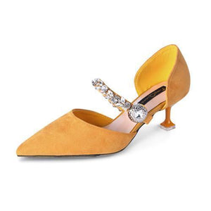 Women's Shoes - Mary Jane Baby Heel Fashion Pumps