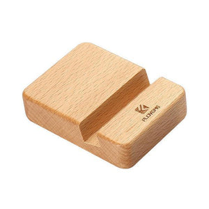Wood Cellphone Stand - Beech Wood Phone Stand Holder