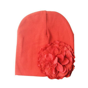 Hat - Adorable Floral Baby Girl Beanie
