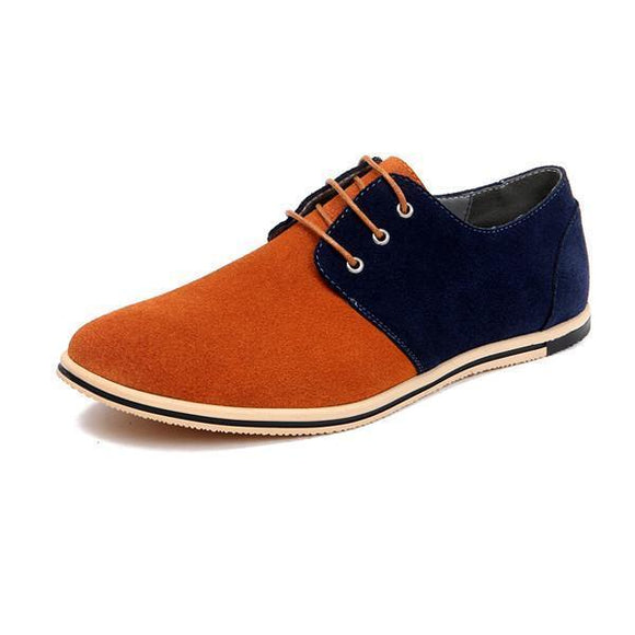 Men's Shoes - Men's Leisure Oxford Shoes