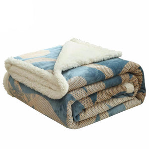 Bed Cover - Soft And Luxury Berber Fleece Bedspreads Or Sofa Throws