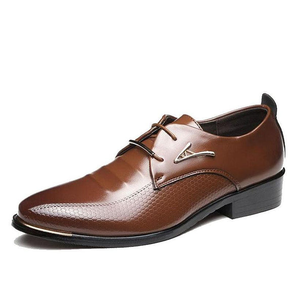 Men's Formal Shoes - British Style Lace Up Shoes