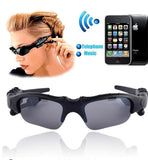 Bluetooth Sunglasses - Smart Bluetooth USB Sports Sunglasses With Earbuds