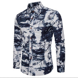 Men's Shirt - Contemporary Print Dress Shirts
