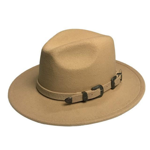 Fedora Hat - Winter Fedora Hat For Women