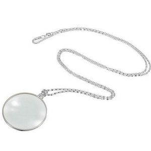 Monocle - Magnifying Glass Monocle Pendant Necklace