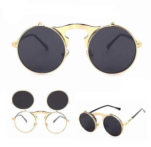 Sunglasses - Novelty Round Fashion Sunglasses For Men