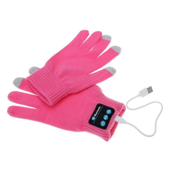 Bluetooth Gloves - Rechargeable Touchscreen Sensitive Bluetooth Smart-Gloves For Women