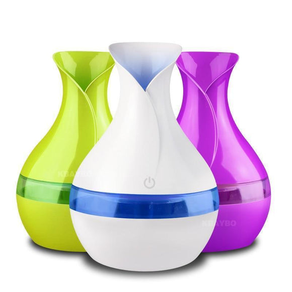 Oil Diffuser - Electric Aromatherapy Essential Oil Diffuser 300ml USB Mini Ultrasonic Air Humidifier
