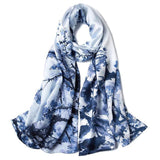 Scarf - Extra Long Pure Silk Scarf For Women