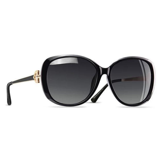 Sunglasses - Rhinestone Studded UV400 Fashion Sunglasses