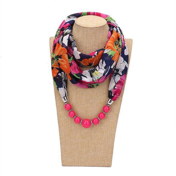 Scarf - Infinity Necklace Scarf For Women