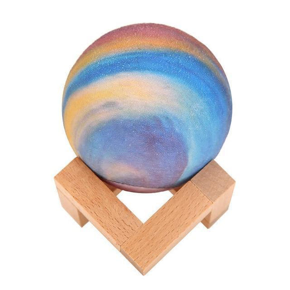 Moon Lamp - 3D Multicolored Halo Moon Lamp