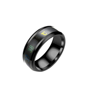 Smart Wearable - Multifunctional Waterproof Temperature Sense Intelligent Smart Ring