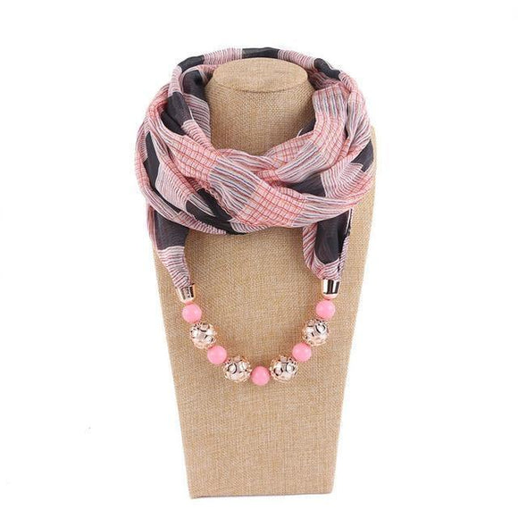 Scarf - Soft Infinity Necklace Scarf For Women