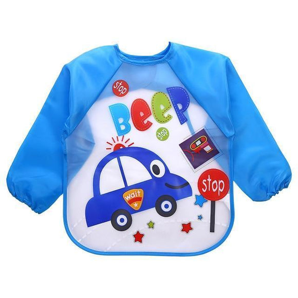 Waterproof Bibs - Waterproof Long Sleeve Bibs For Kids