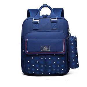 School Backpack - Cute Polka Dot School Backpacks For Girls