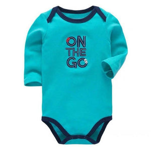 Baby Clothes - Newborn Baby Boy Cotton Onesie