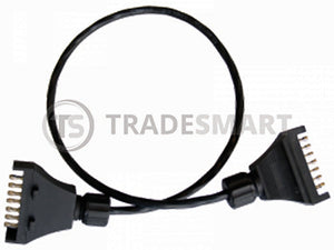 Trailer Plug Extension Flat to FLat Steel