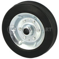 Jockey Wheel & Tyre - Steel