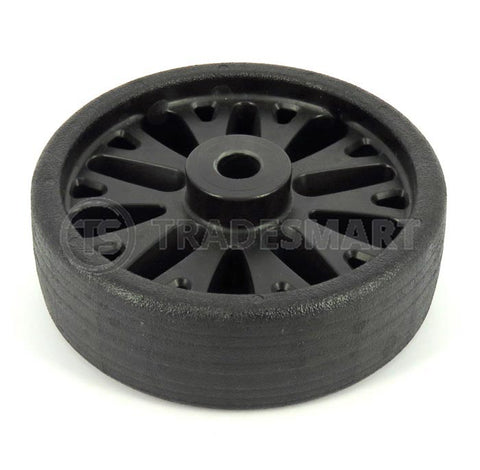 Jockey Wheel & Tyre - Knott HD Plastic 6""