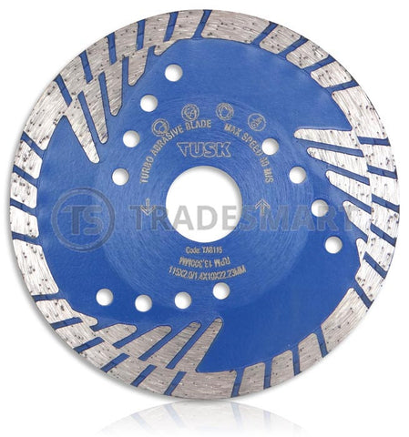 Turbo Abrasive Diamond Concrete Blade