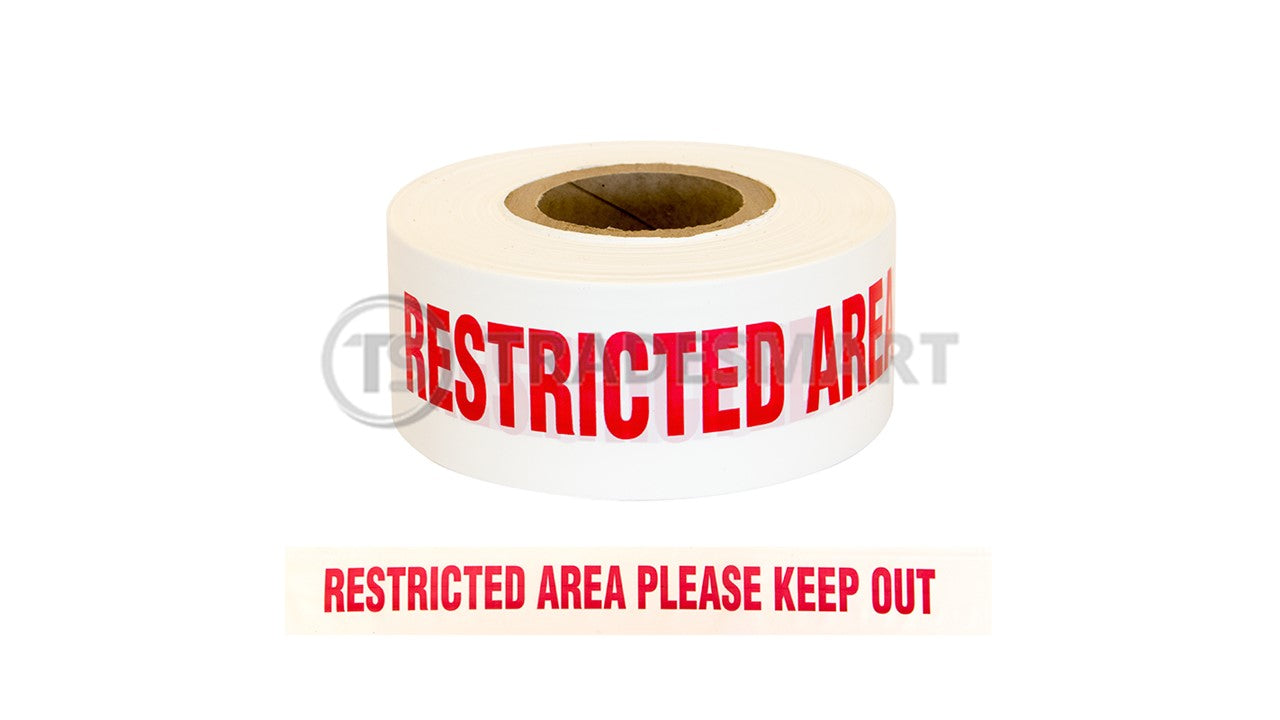Restricted Area Please Keep Out
