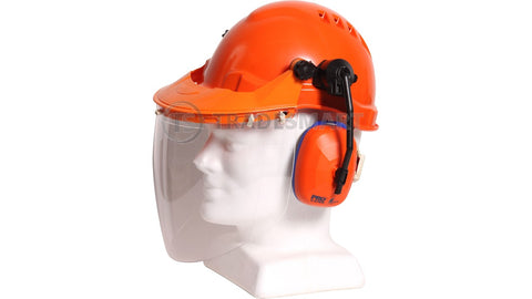 Certified Hard Hat Visor Combo