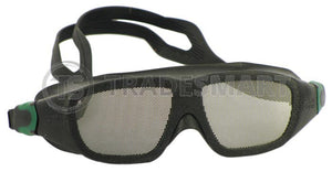 Safe-Eyes Safety Goggles - Green Standard Version
