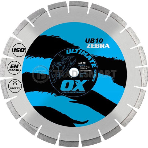 OX Concrete/Asphalt Diamond Blade
