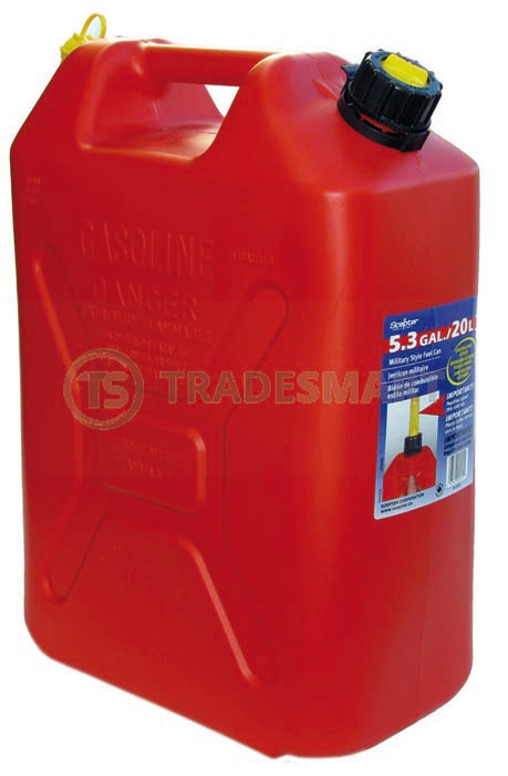 Fuel Can 20 Litre Red Tall