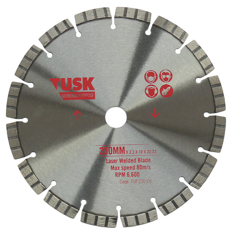 General Purpose Diamond Blade 9""