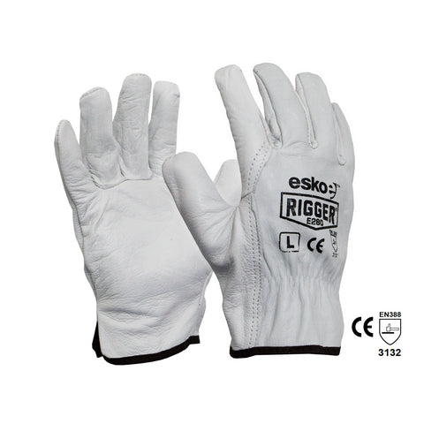 Heady Duty Leather Rigger Gloves