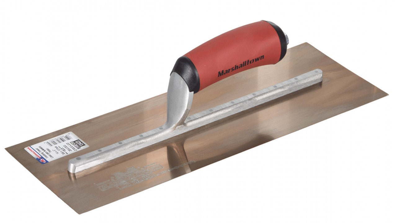 MARSHALLTOWN 350x125 Gold Finishing Trowel