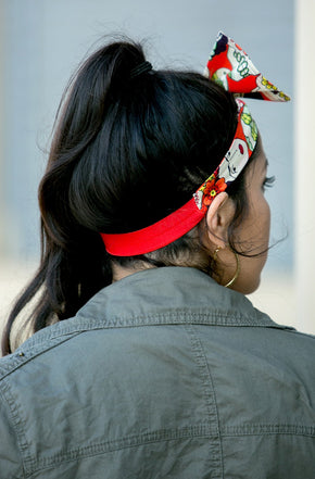 Frida Roja Bow