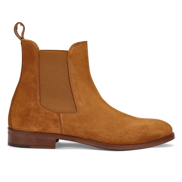 CHELSEA BOOT IN TOBACCO SUEDE