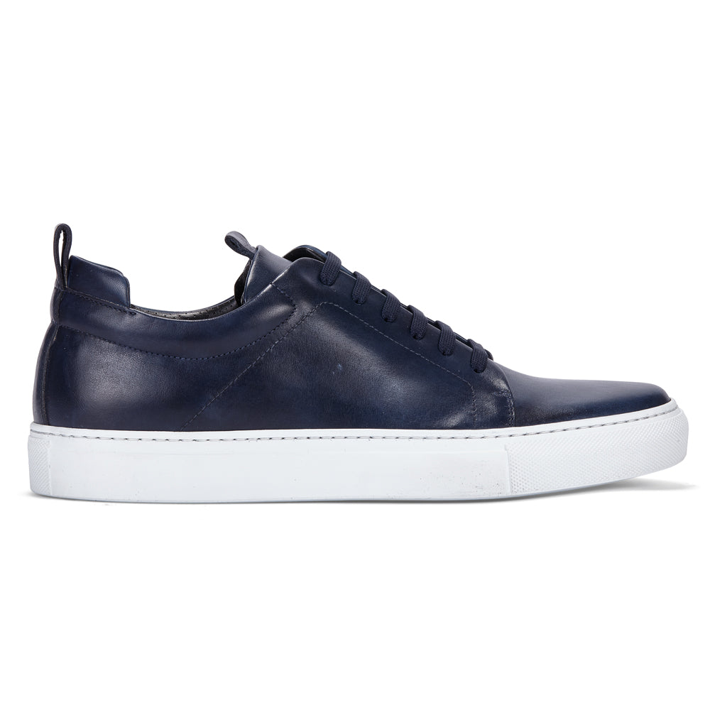 DON IN NAVY BLUE LEATHER